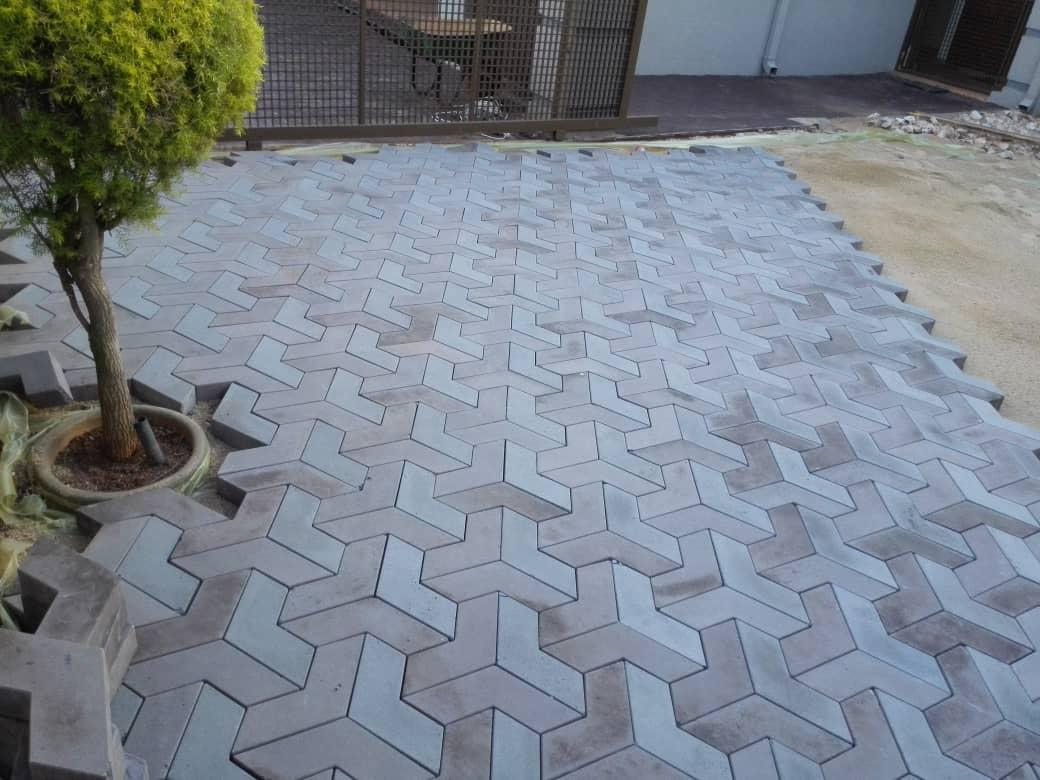 3 d car porch flooring tiles design in karachi tuff tiles price list