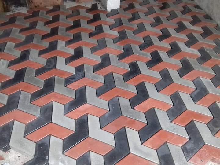 Pak Clay 3d paving tuff tiles price in peshawar pakistan