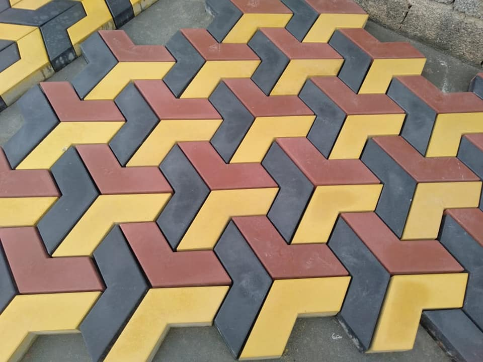 Pak Clay Tiles 3 colors new tuff tile design in pakistan