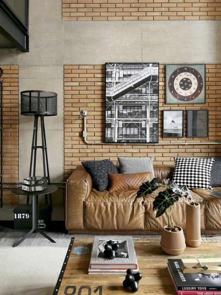 Pak Clay Tiles Karachi home interior brick wall tiles design ideas images