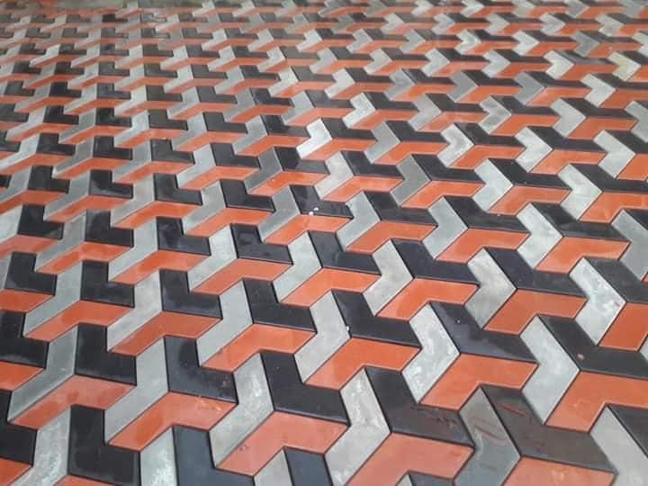 Pak Clay Tiles driveway tough tiles designs pakistani