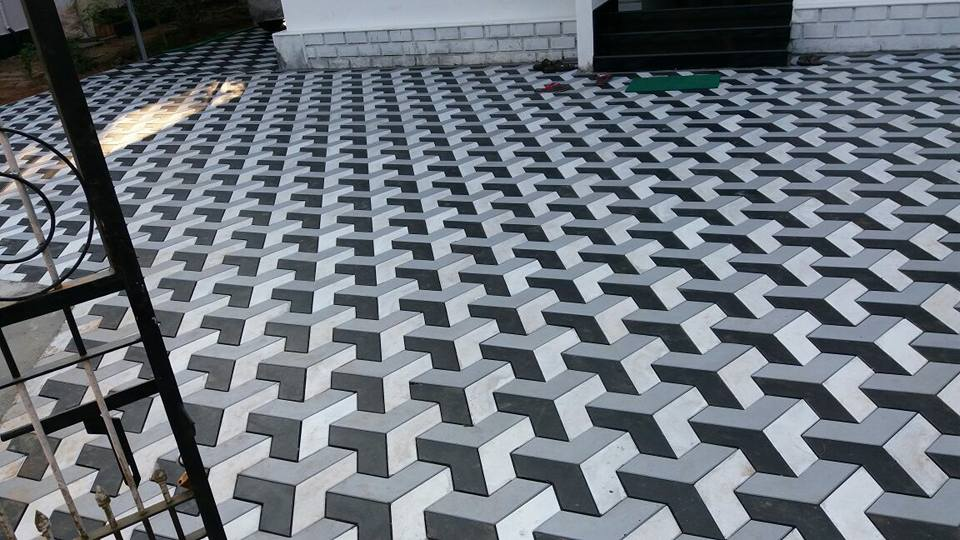 Pak Clay cement paver tuff tiles designs price in pakistan