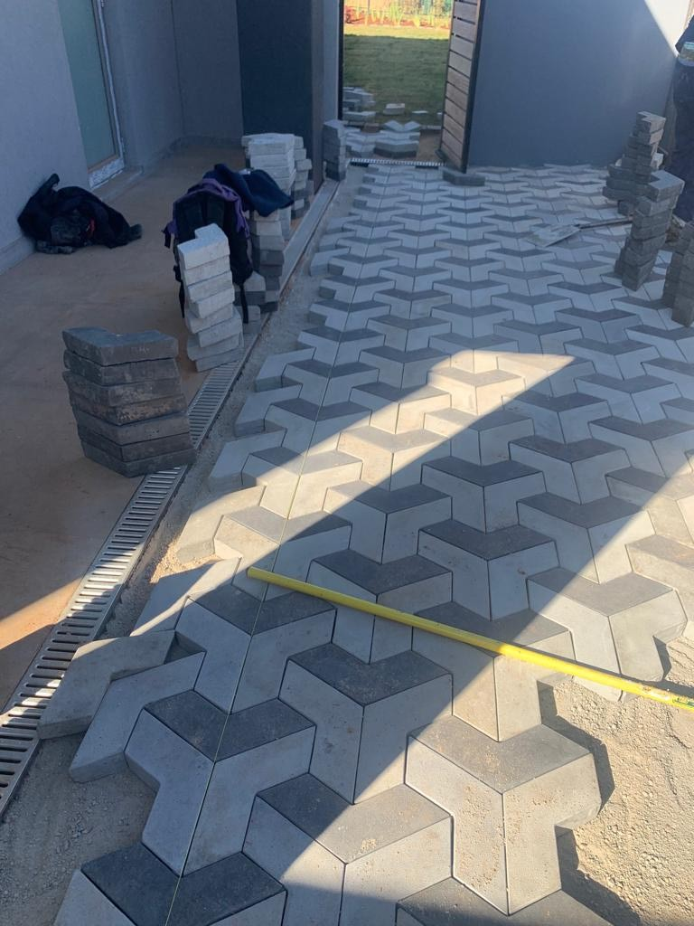 house outdoor sidewalk cement paver floor tiles in islamabad