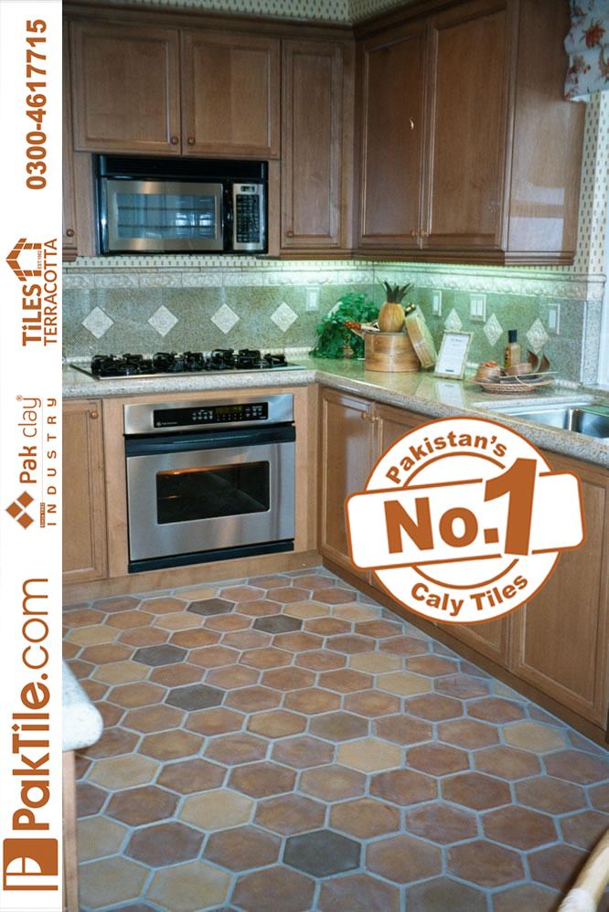 Natural Clay Tiles Industry Interior Terracotta Floor Tiles in Karachi