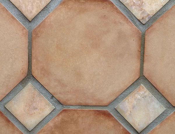 Natural Clay Tiles Industry Octagon Brick Flooring Tiles in Rawalpindi