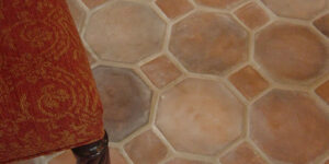 Natural Clay Tiles Industry Octagon Bricks Floor Tiles in Islamabad