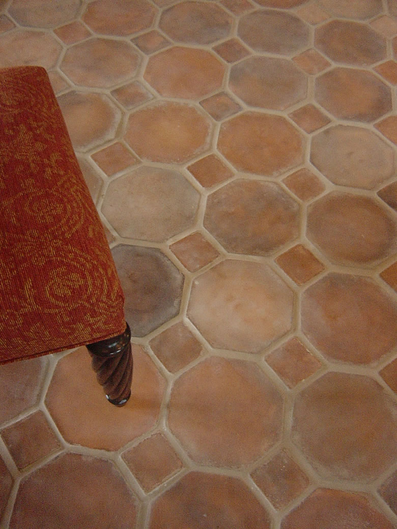 Natural Clay Tiles Industry Octagon Bricks Floor Tiles in Islamabad