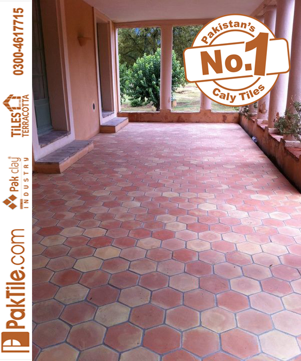Natural Clay Tiles Industry Terracotta Floor Tiles in Pakistan