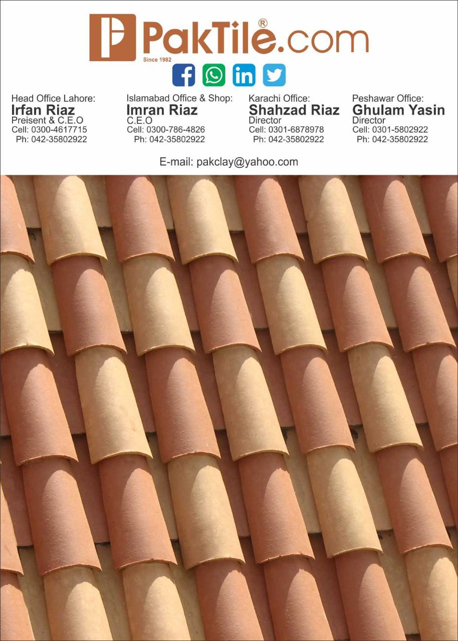 Natural Khaprail Tiles Roofing Services Islamabad Pakistan