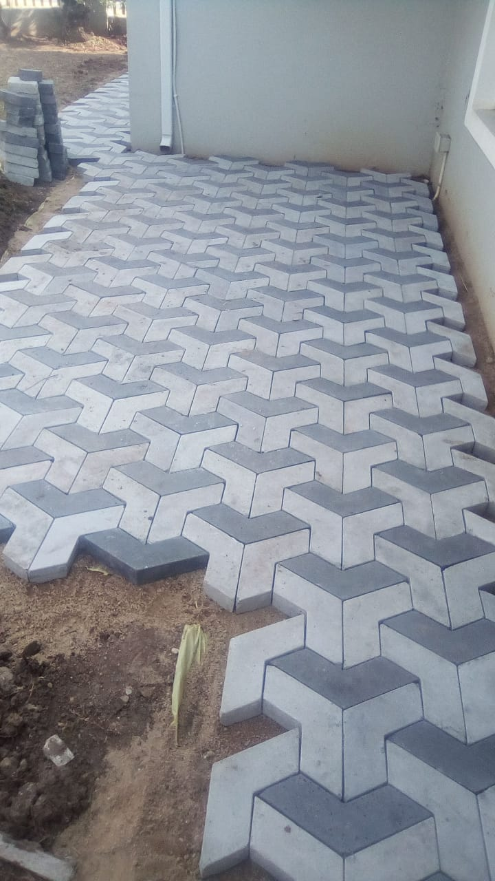 Outdoor Flooring Footpath Tiles Price in Karachi Pakistan Pictures
