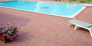 Outdoor Red Brick Floor Tiles in Pakistan Images