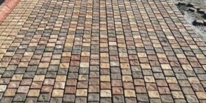 Pak Clay Cobblestone Outdoor Floor Tiles in Pakistan