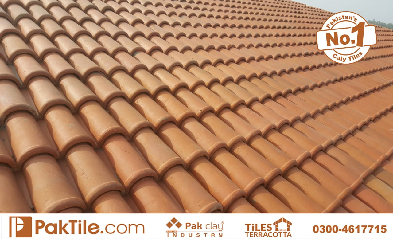 Pak Clay Natural Khaprail Tiles in Islamabad Pakistan Image