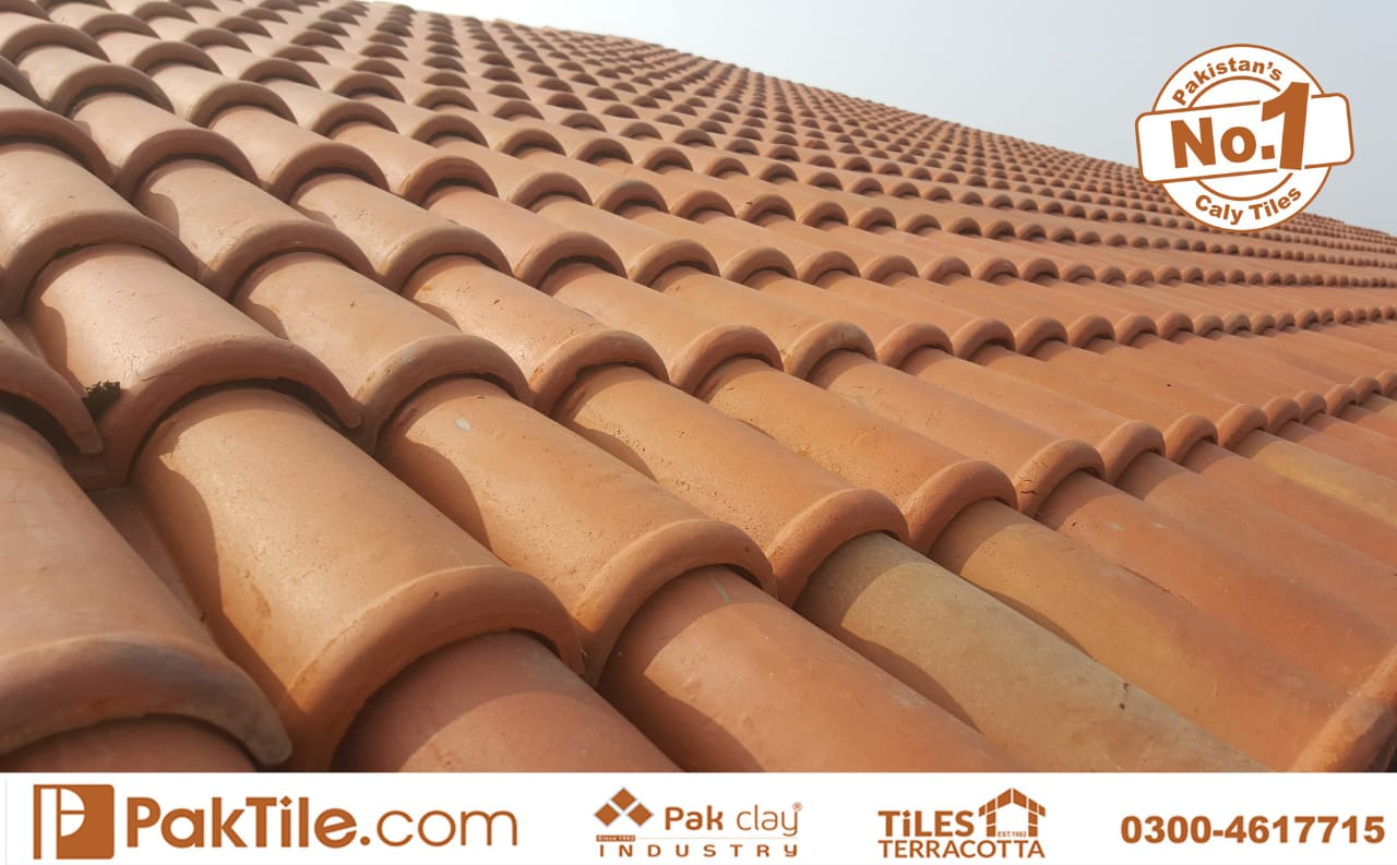 Pak Clay Natural Khaprail Tiles in Islamabad Pakistan Images