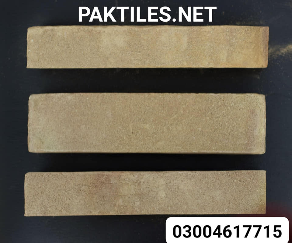 Pak Clay Tiles exterior yellow gutka brick wall tiles in islamabad images
