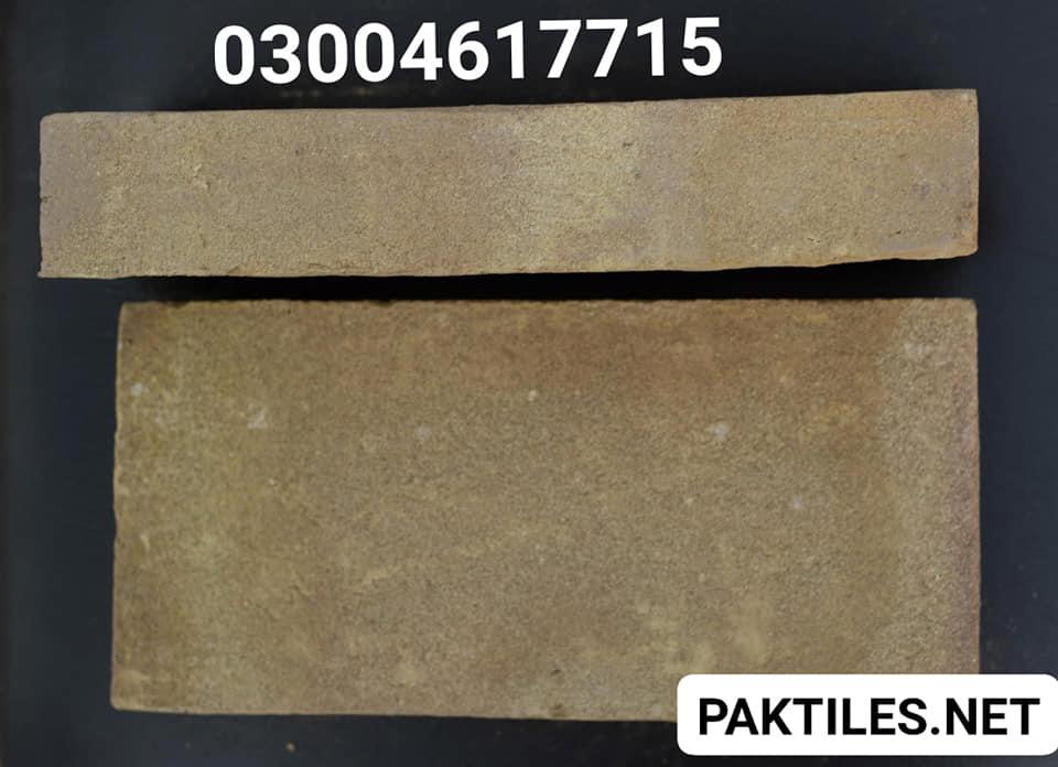 Pak Clay Yellow Gutka Bricks Size in Pakistan