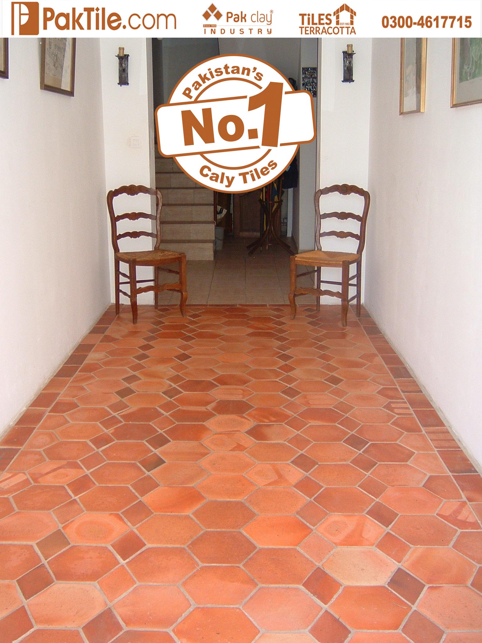 Pak Natural Clay Tiles Industry Terracotta Floor Tiles in Lahore