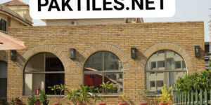 Pak Tiles Yellow Brick Outdoor Wall Tiles Design Images in Karachi