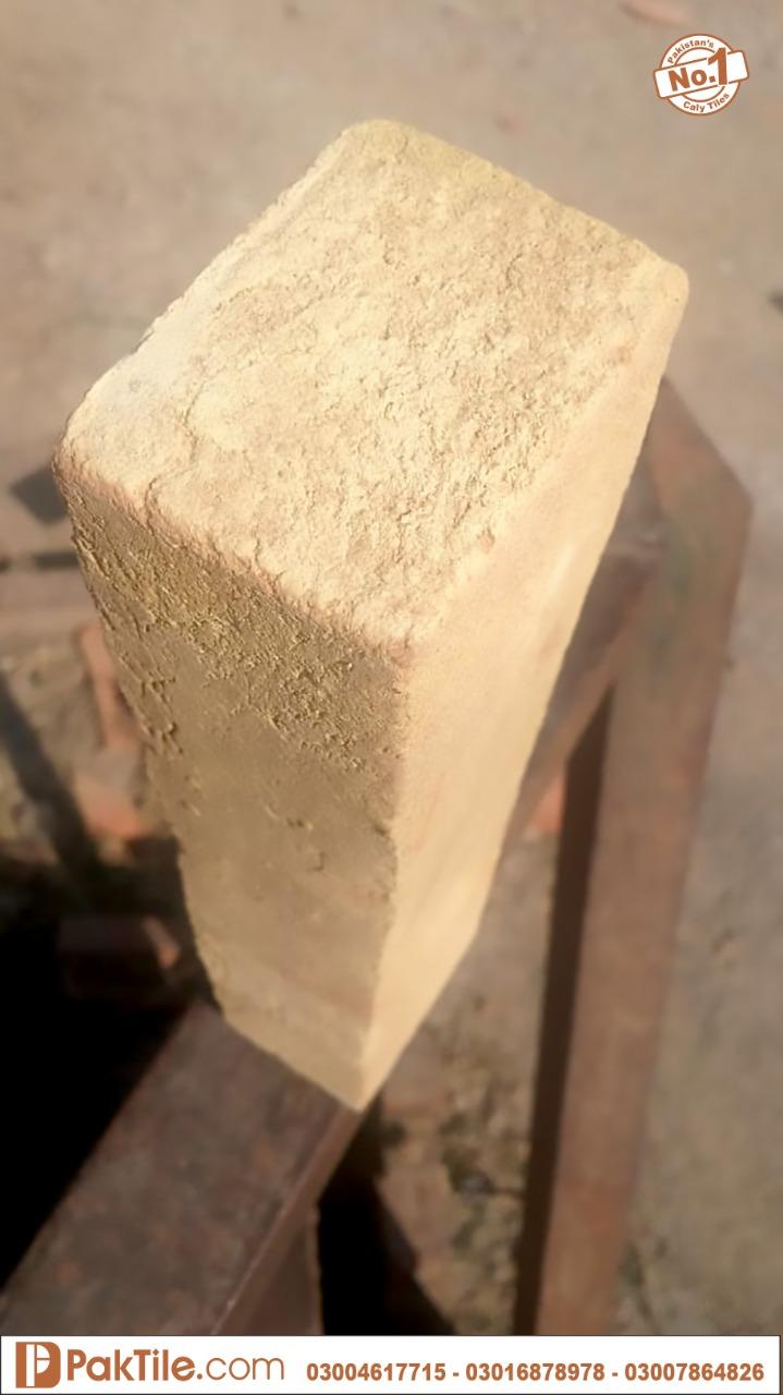 3 Gutka Tiles in Lahore Yellow color lahori gutka bricks price in pakistan