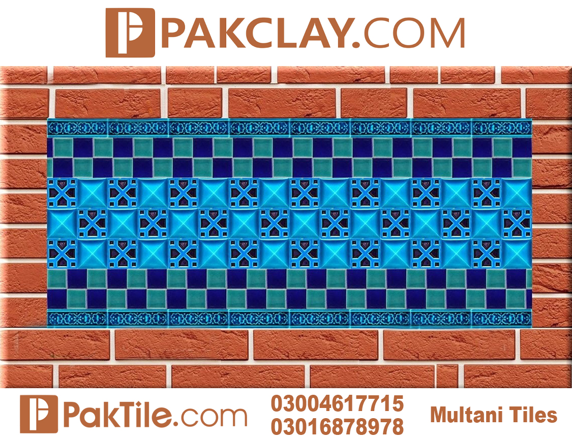 Pak Clay Naqashi Tiles Design Multani Pottery online