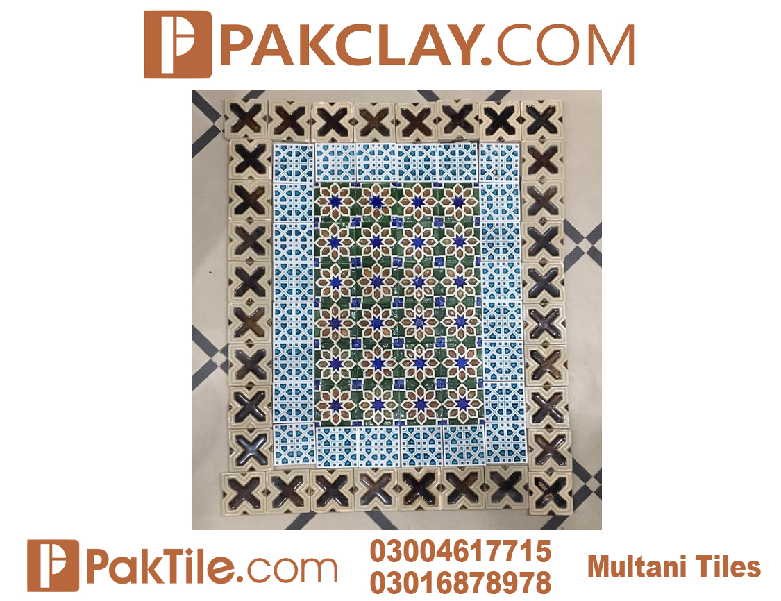 Pak clay kitchen wall tiles design multani pottery in lahore