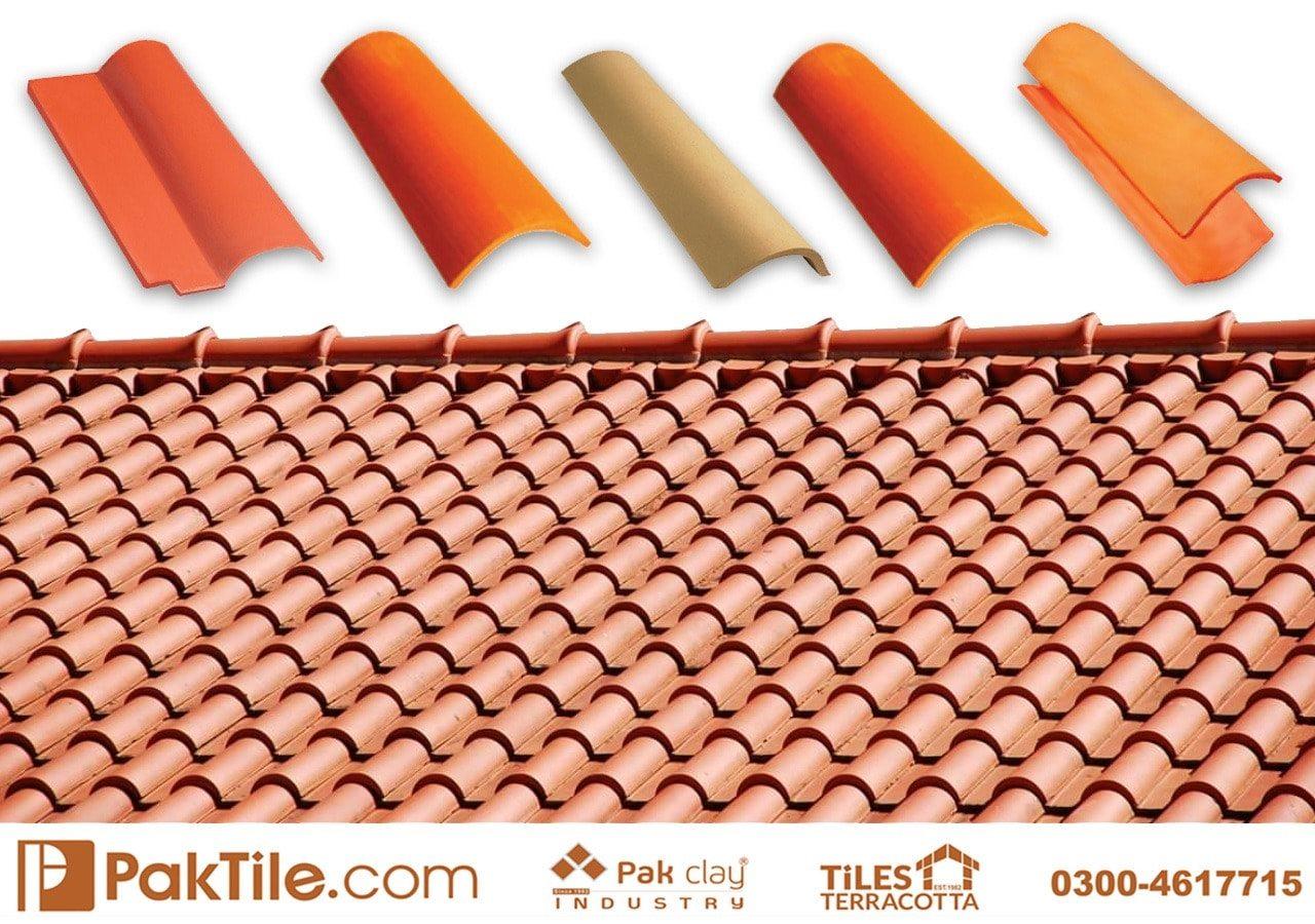 Ceramic Roof Tiles Natural Khaprail Tiles
