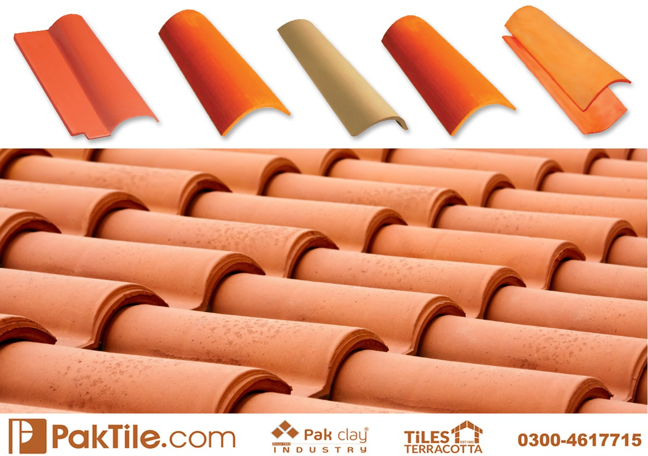 Pak Clay Tiles Pakistan Natural Khaprail Tile Roofing Services Islamabad Image
