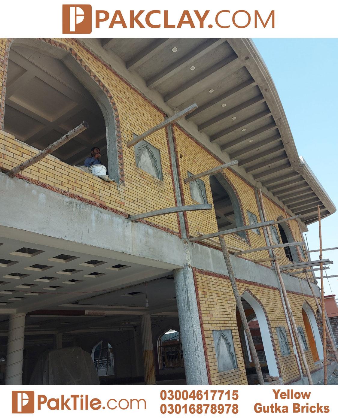 Yellow Gutka Bricks in Lahore