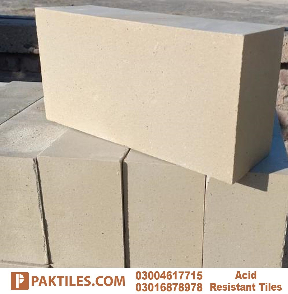 Acid proof bricks chemical composition