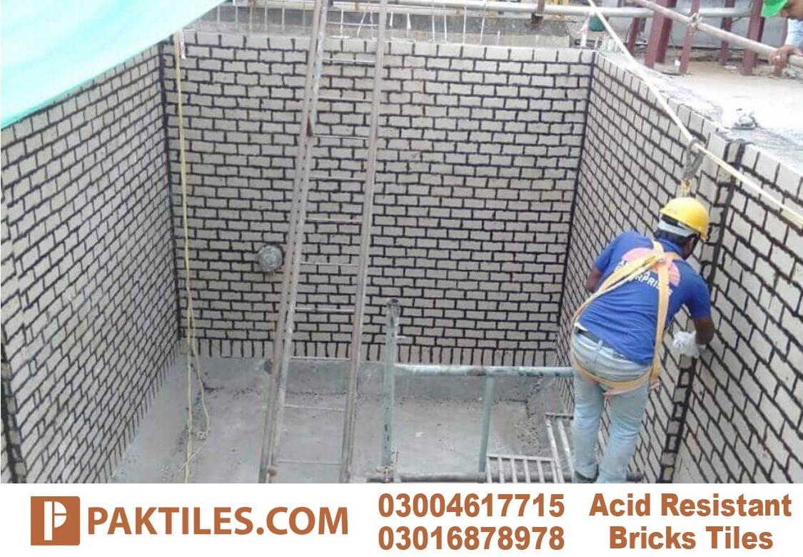 Acid Resistant Bricks Size