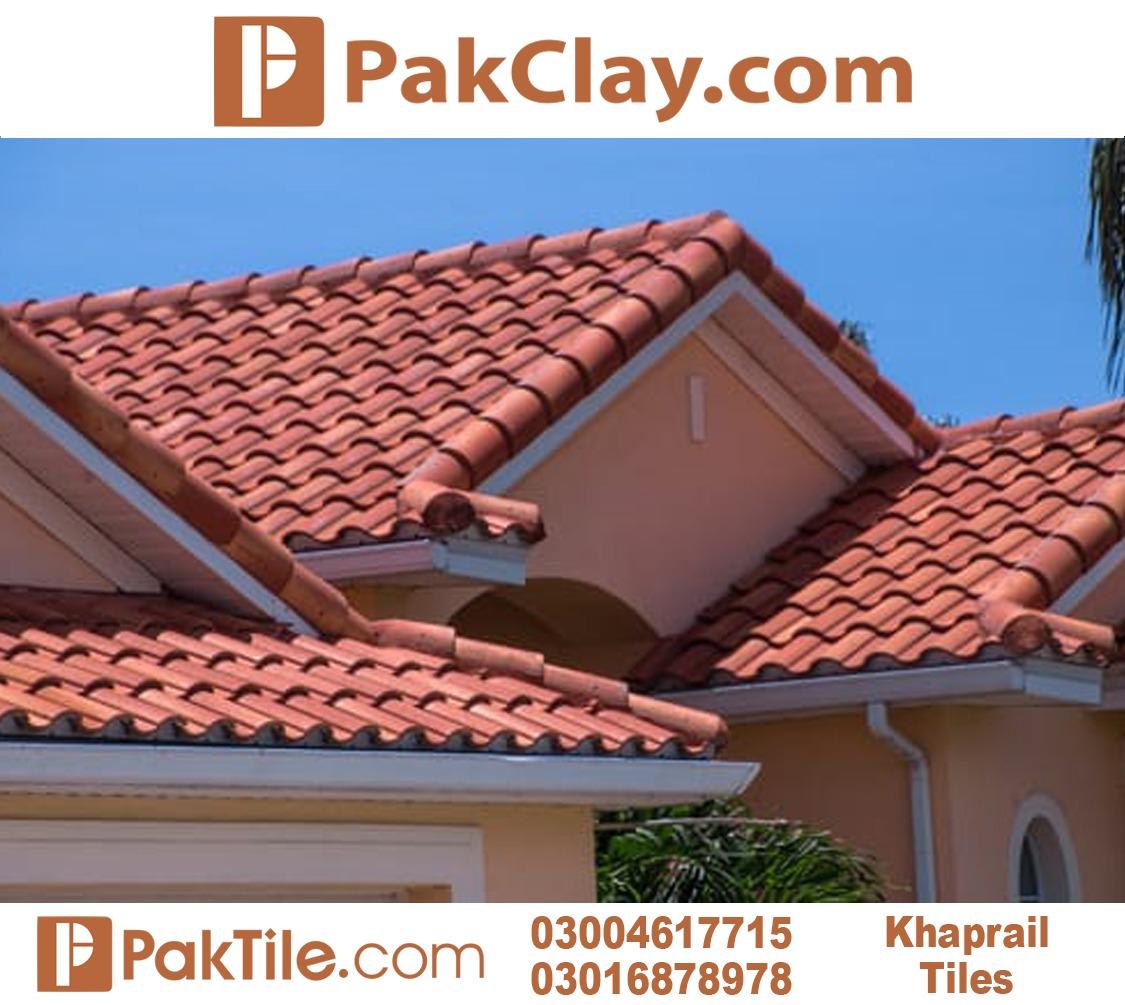 Modern latest khaprail design house roof tiles
