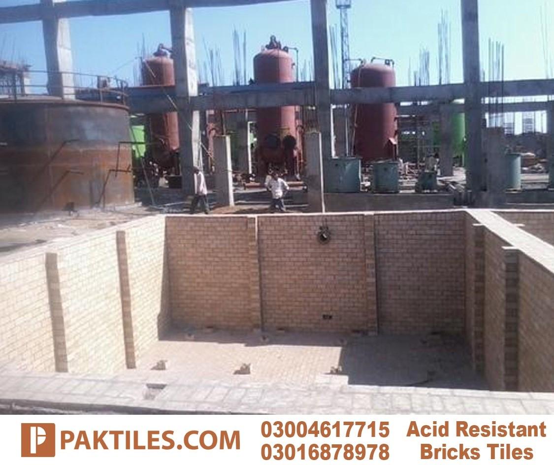 density of acid resistant bricks