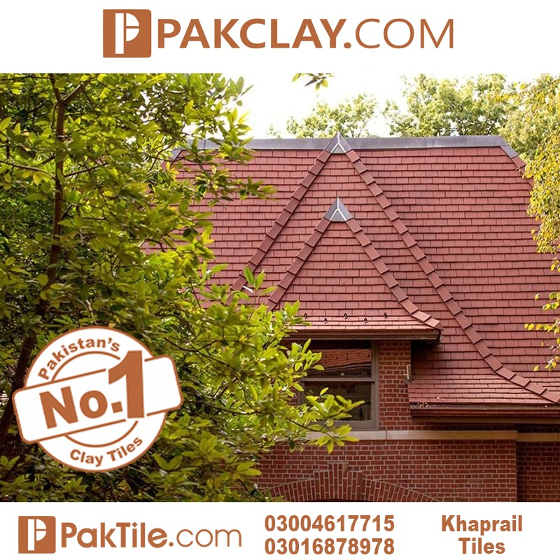 Flat Clay Roof Khaprail tiles price in Islamabad