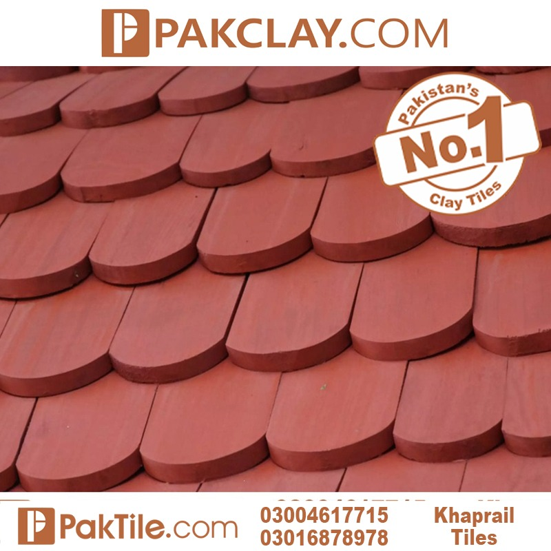 Red Colord Khaprail tiles price in Rawalpindi