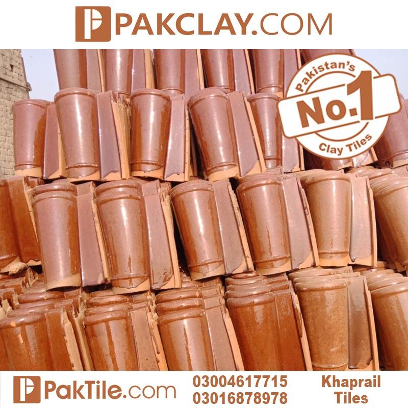 Red Color Khaprail tiles design