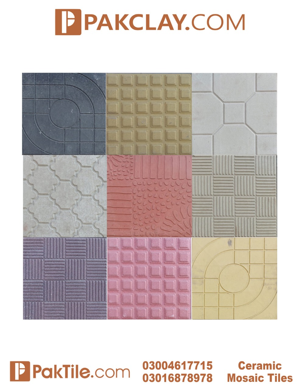 6 Pak Clay Tiles Lahore Concrete Pavers Tiles Design