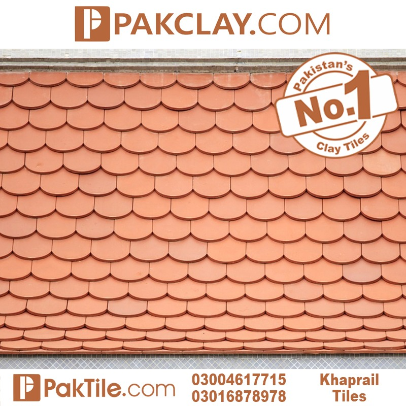 Red Color Khaprail Tiles in Pakistan
