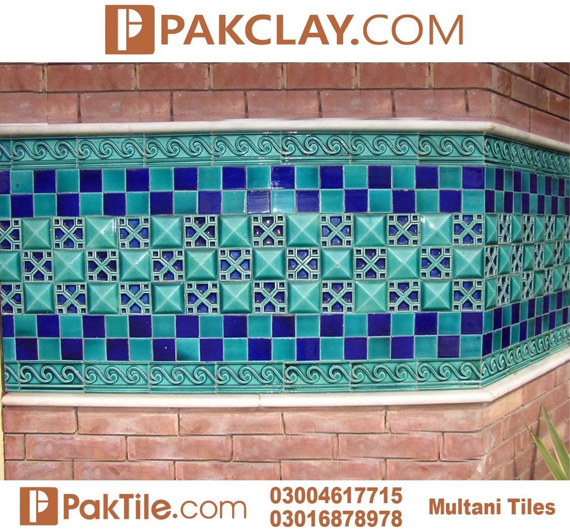 Pak Clay Outdoor Wall Multani Tiles Islamabad