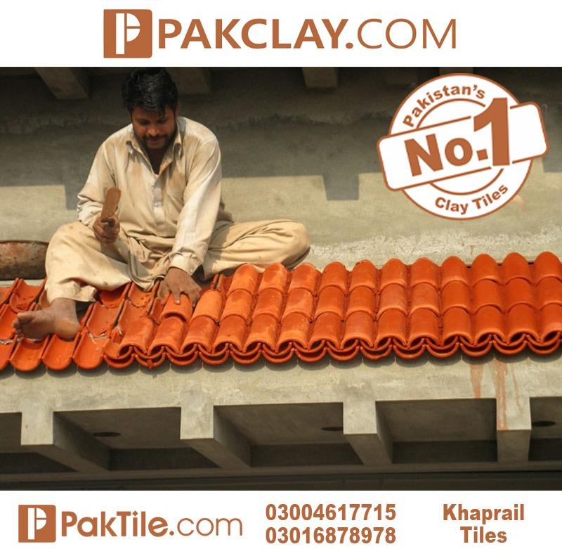 Pak Clay Roof Khaprail Tiles Price in Pakistan