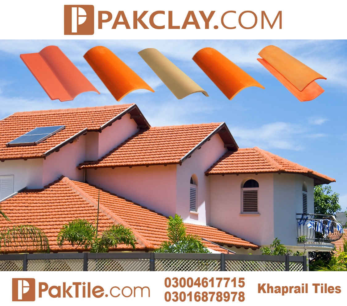 Pak Clay Best Roof Khaprail Tiles Company in Pakistan