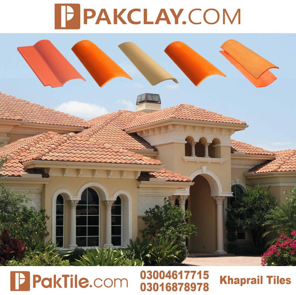 Pak Clay Roof Khaprail Tiles Company in Karachi